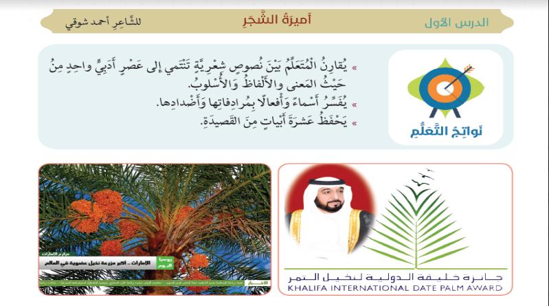 Photo of حل درس أميرة الشجر لمادة اللغة العربية للصف السابع الفصل الثاني 2017