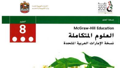 Photo of دليل المعلم علوم محلول صف ثامن فصل أول