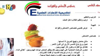 Photo of صف سادس فصل ثاني ورق عمل علوم الأحماض والقواعد