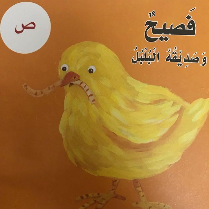 Photo of صف أول فصل ثاني قصة حرف الصاد فصيح وصديقه البلبل