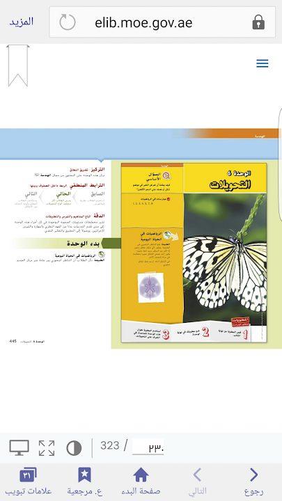 Photo of صف ثامن فصل ثاني دليل التحويلات رياضيات