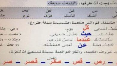 Photo of صف خامس فصل ثاني حلول لغة عربية الوحدة الخامسة كتاب النشاط