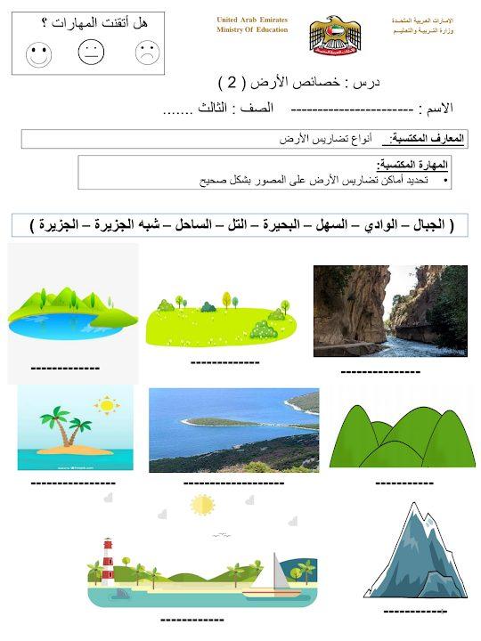 Photo of أوراق عمل علوم الوحدة الثامنة صف ثالث فصل ثاني