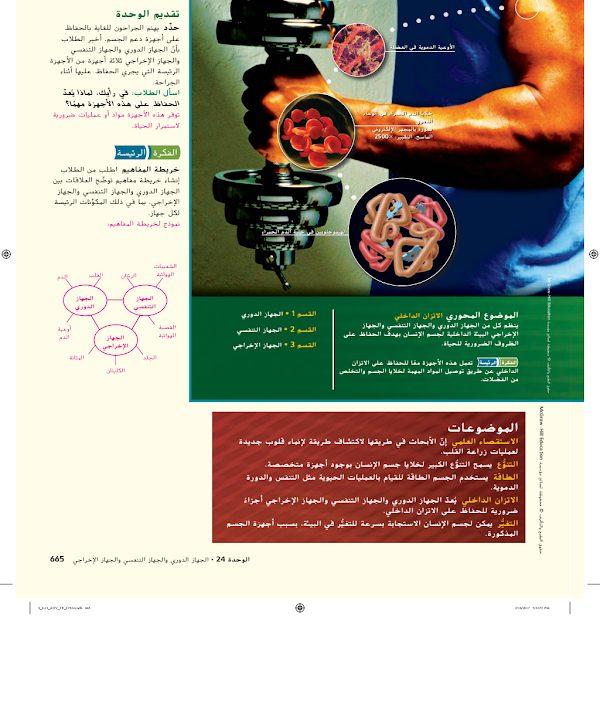 Photo of صف تاسع فصل ثاني دليل أحياء الجهاز الدوري والتنفسي والإخراجي