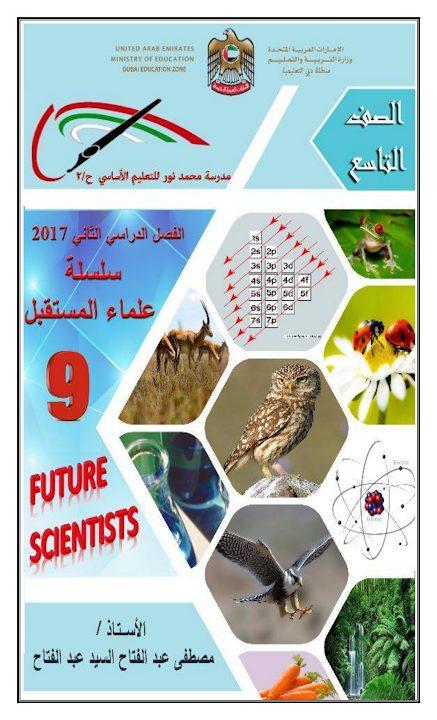 Photo of مذكرة علوم صف تاسع فصل ثاني