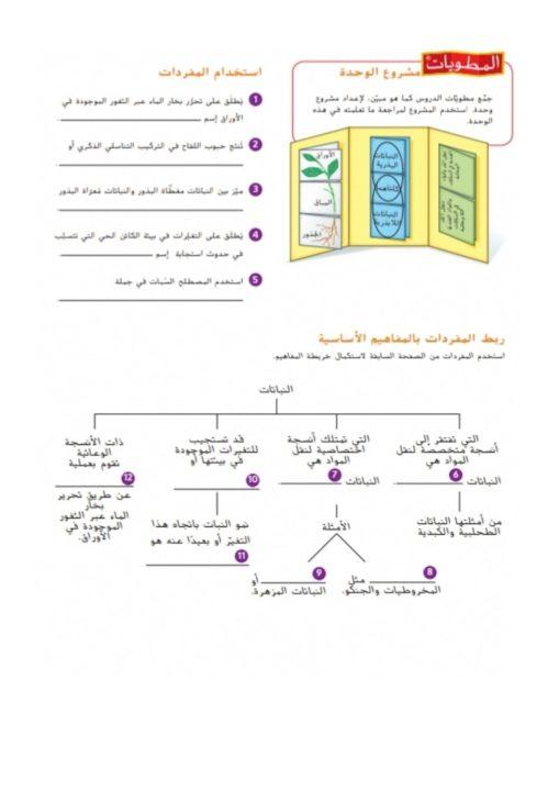 Photo of صف سابع فصل ثاني حلول أسئلة نهاية الوحدة التاسعة في مادة العلوم