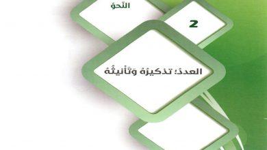 Photo of اجابة درس العدد تذكيره وتأنيثه لمادة اللغة العربية الصف التاسع