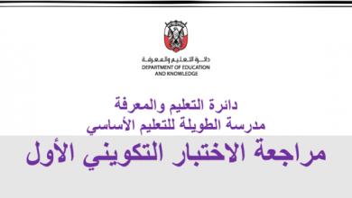 Photo of مراجعة للاختبار الأول لغة عربية صف ثالث فصل ثالث