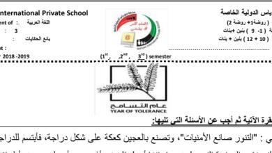 Photo of أوراق عمل وحدة بائع الحكايات لغة عربية صف ثالث فصل ثالث