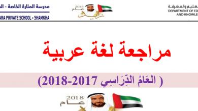 Photo of مراجعة لغة عربية صف أول فصل ثالث