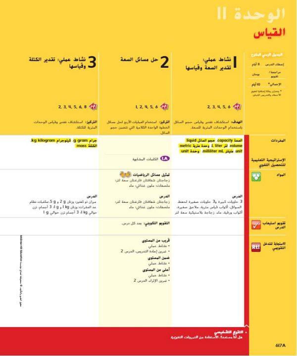 Photo of دليل المعلم الوحدة 11 القياس صف ثالث فصل ثالث