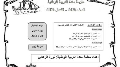 Photo of أوراق عمل دراسات اجتماعية صف ثالث فصل ثالث