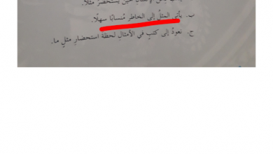 Photo of صف سابع فصل ثالث عربي حلول درس مصابيح الكلام