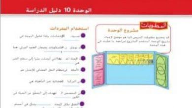 Photo of حل اسئلة نهاية الوحدة العاشرة علوم سابع الفصل الثالث