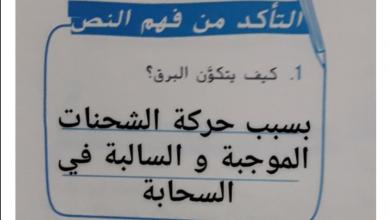 Photo of حل درس الطقس القاسي الصف السابع الفصل الثالث