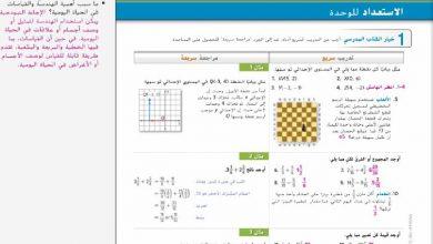 Photo of دليل المعلم رياضيات الوحدة العاشرة الصف الثامن الفصل الثالث