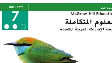 Photo of دليل المعلم علوم صف سابع فصل ثاني