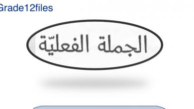 Photo of حل درس الجملة الفعلية لغة عربية صف ثاني عشر فصل ثاني