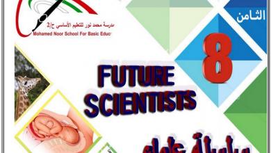 Photo of صف ثامن مذكرة علوم الفصل الثاني