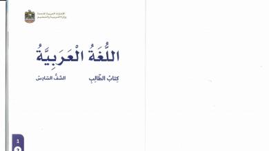 Photo of صف سادس فصل ثاني كتاب الطالب لغة عربية 2019