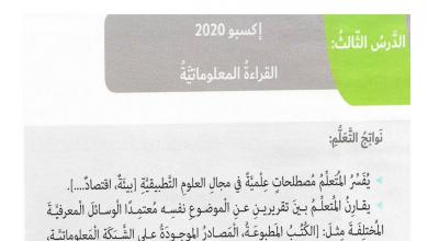 Photo of حل درس إكسبو 2020 لغة عربية صف سادس فصل أول