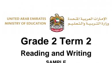 Photo of نموذج اختبار قراءة وكتابة لغة إنجليزية صف ثاني فصل ثاني