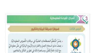 Photo of سولار صديقة البيئة لغة عربية صف سابع فصل ثاني