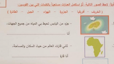 Photo of امتحان نهاية الفصل الأول 2018  مع الحل دراسات اجتماعية صف ثاني