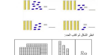 Photo of صف أول فصل ثاني رياضيات ورق عمل هامة