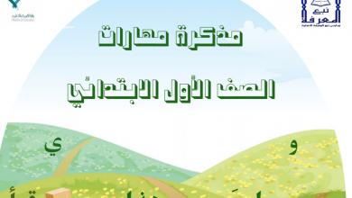 Photo of صف أول لغة عربية مراجعة لمهارات الفصل الثاني