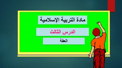 Photo of صف عاشر فصل ثاني درس العفة تربية إسلامية