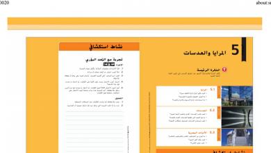 Photo of صف ثامن فصل ثاني دليل المعلم علوم وحدة المرايا والعدسات