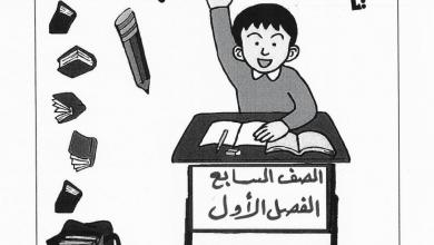Photo of صف سابع تدريبات لغة عربية فصل أول