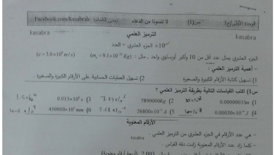 Photo of مراجعة فيزياء صف حادي عشر متقدم فصل أول