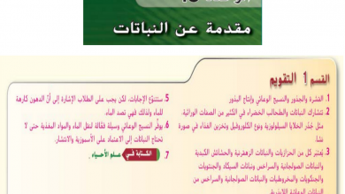 Photo of عاشر أحياء دليل المعلم وحدة النباتات
