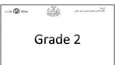 Photo of مذكرة لغة إنجليزية صف ثاني فصل أول