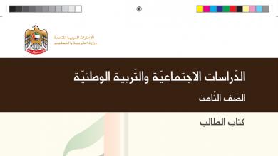 Photo of كتاب الطالب دراسات اجتماعية صف ثامن فصل أول