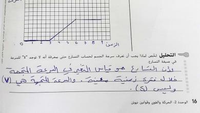Photo of حل النشاط الوحدة الثانية من صفحة 16-41 علوم صف سابع فصل أول