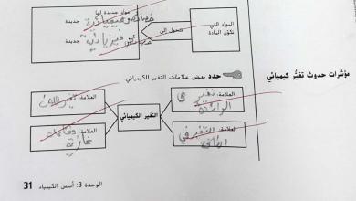 Photo of إجابات النشاط علوم من صفحة 31-37 صف سابع فصل أول
