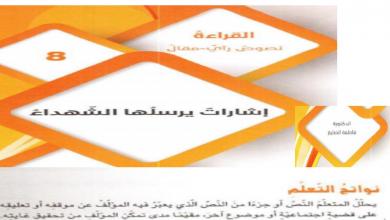 Photo of حل درس إشارات يرسلها الشهداء لغة عربية صف تاسع فصل أول