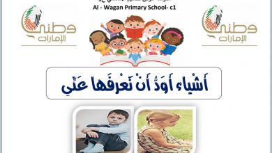 Photo of ورق عمل درس أشياء أود أن تعرفها عني لغة عربية صف رابع فصل أول