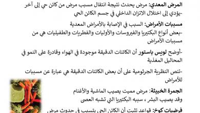 Photo of ملخص الوحدة السابعة أحياء صف عاشر فصل أول