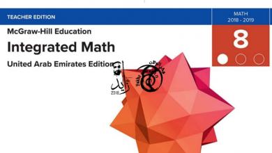 Photo of دليل المعلم رياضيات منهج إنجليزي محلول صف ثامن فصل أول