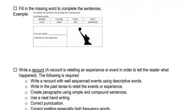 Photo of امتحان كتابة لغة إنجليزية صف ثالث فصل ثالث