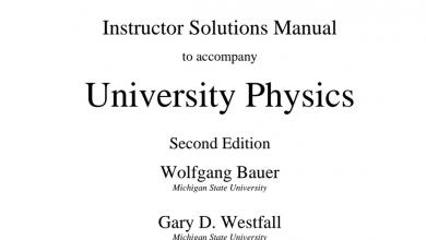 Photo of دليل المعلم فيزياء الوحدة الاولى صف ثاني عشر متقدم فصل أول