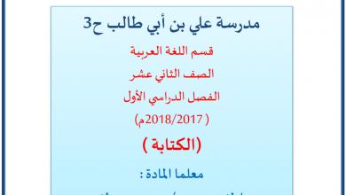 Photo of شرح الاستجابة الأدبية والقصة القصيرة والنص الاقناعي لغة عربية صف ثاني عشر فصل أول