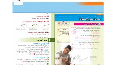 Photo of دليل المعلم رياضيات مساحة الأشكال صف ثامن فصل أول