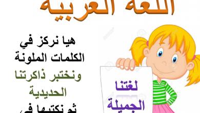 Photo of (حروف تلفظ ولا تكتب) لغة عربية للصف الرابع الفصل الأول