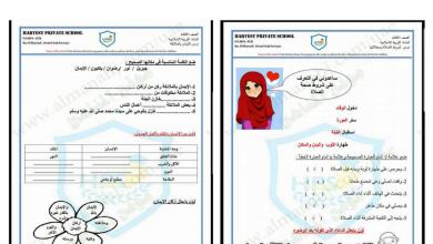 Photo of نماذج امتحان تربية إسلامية صف ثالث فصل أول