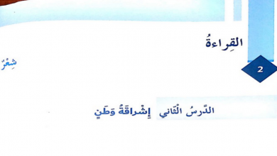 Photo of حل درس إشراقة وطن لغة عربية صف سابع فصل ثاني 2018
